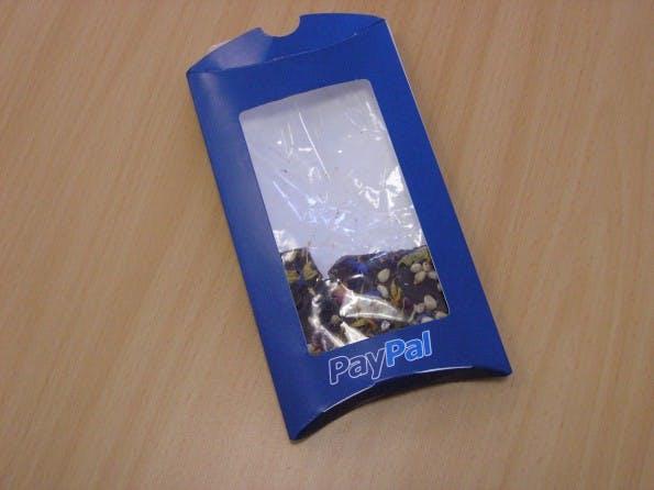 Weihnachtskarten 2010: Süßes von PayPal