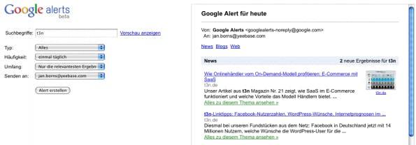 Google SEO Tools: iGoogle (+ Alerts & Reader)