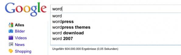 Google SEO Tools: Vorschläge