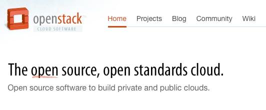 Open Source 2010: OpenStack Cloud Computing