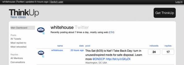 Open Source 2010: ThinkUp