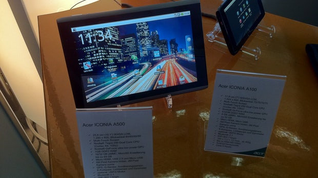 "CeBIT: Acers ""Iconia""-Tablets von 7 Zoll bis Dual-Screen"