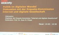 CeBIT: Diskussion mit der Enquête-Kommission