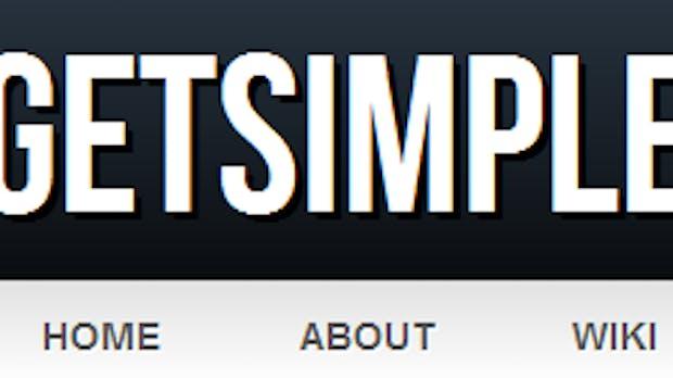 GetSimple – Ein XML-basiertes CMS für Kleinkunden