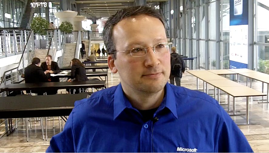 CeBIT:  Microsoft-Evangelist Daniel Melanchton im Video-Interview zum IE9