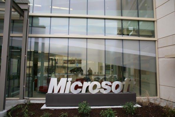 Bei Microsoft herrscht eine gute Arbeitskultur. #FLICKR#