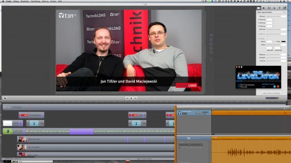 Produktion einer TechnikLOAD-Folge mit ScreenFlow, GarageBand und Levelator - einfach aber effektiv