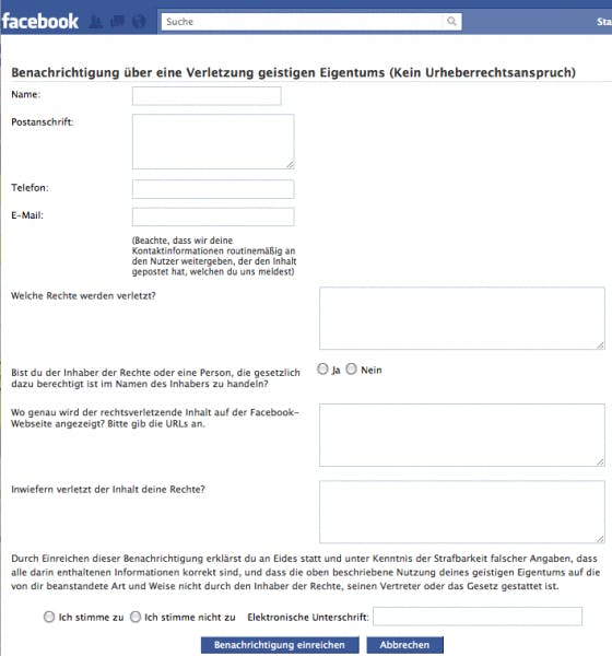 e mail adresse facebook