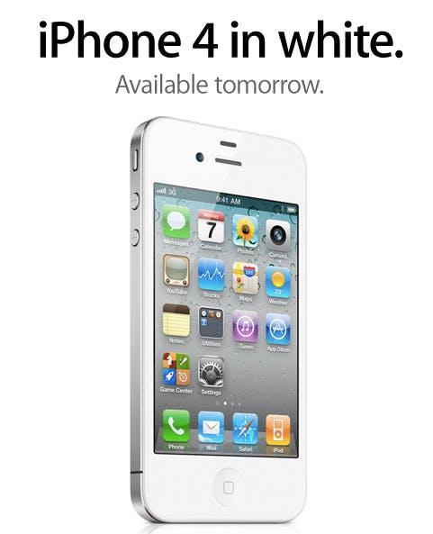 Weißes iPhone 4 ab Donnerstag in Deutschland erhältlich