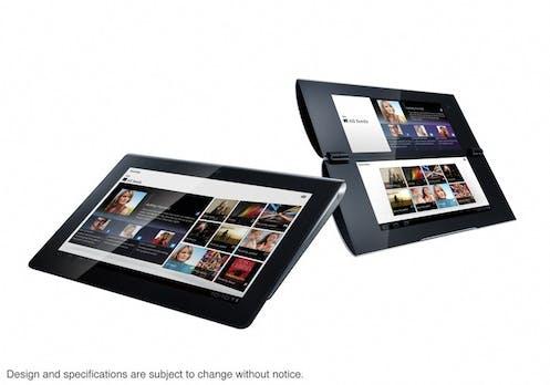 Sony bestätigt Honeycomb-Tablets S1 und S2 mit Dual-Screen