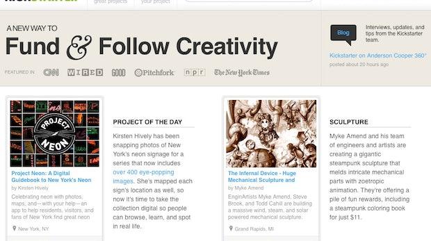Crowdfunding: 13 extrem coole Kickstarter Projekte