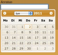 Datepicker jQuery UI