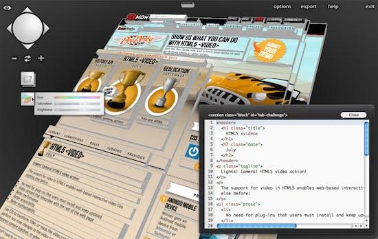 Tilt: 3D-Webentwickler-Tool visualisiert das DOM