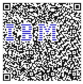 QR-Code im Logo mit Farbe