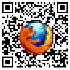 QR-Code mit Logo in Farbe