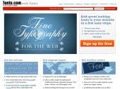 Webfontdienst: Fonts.com