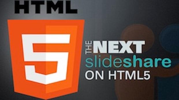 Slideshare kickt Flash und setzt auf HTML5