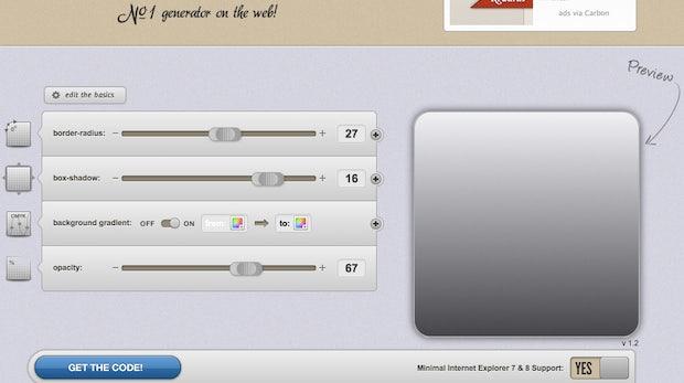CSS3-Generatoren im Vergleich