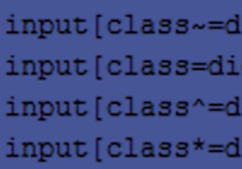 CSS3: Mit Attribut-Selektoren Elemente individuell ansteuern
