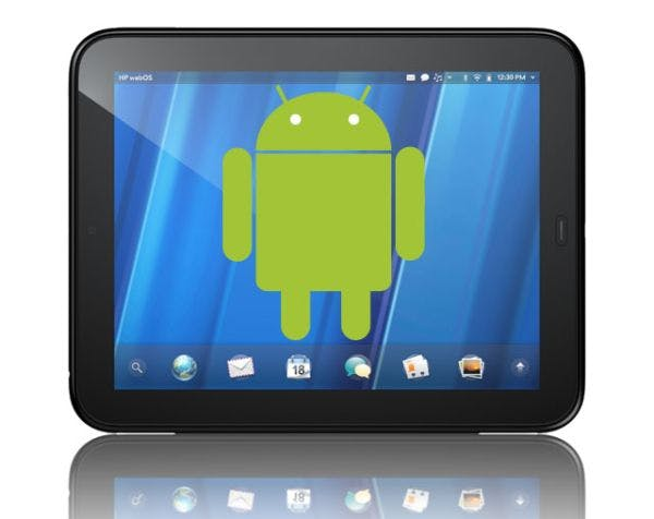 Android auf dem HP TouchPad [Video]
