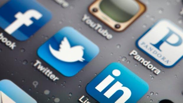 Soziale Netzwerke: Das Wachstum der Big 5 im Überblick [Infografik]