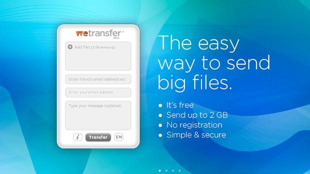 Tooltipp: WeTransfer – große Dateien verschicken