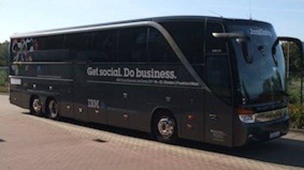 JamCamp: Bilder der Social-Bustour