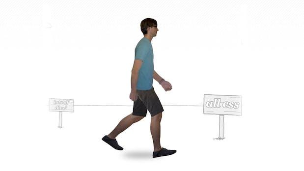 Geniale CSS-Animation: Der gehende Mann