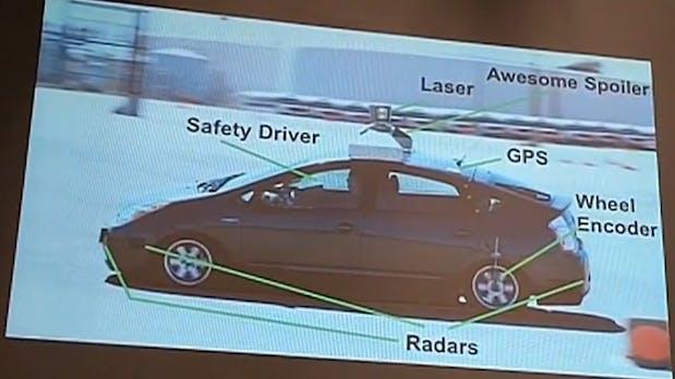 So funktioniert Googles selbstfahrendes Auto