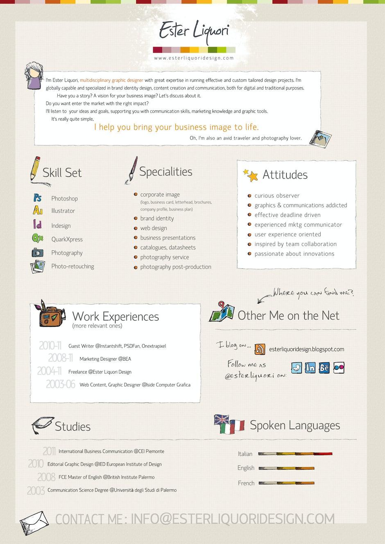 lebenslauf-infografik-ester-liquori | ❤ t3n