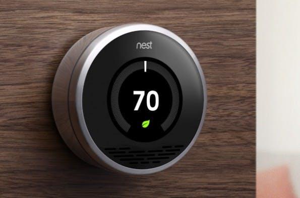 """Das """"Nest""""-Thermostat stellt sich auf die Gewohnheiten seines Nutzers ein.  (Foto: Nest)"""