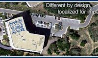 QR-Codes machen Dächer in Google Maps zu riesigen Plakaten