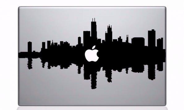 Mit solchen schicken Decals könnt ihr euer MacBook aufhübschen. (Bild: Etsy)
