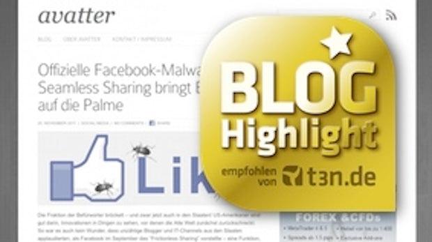 """Blog-Highlight avatter.de: """"Mich motiviert der leere Raum der Seite"""""""