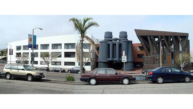 Das Binoculars Building in Los Angeles