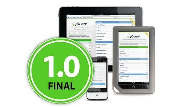 jQuery Mobile 1.0 erschienen