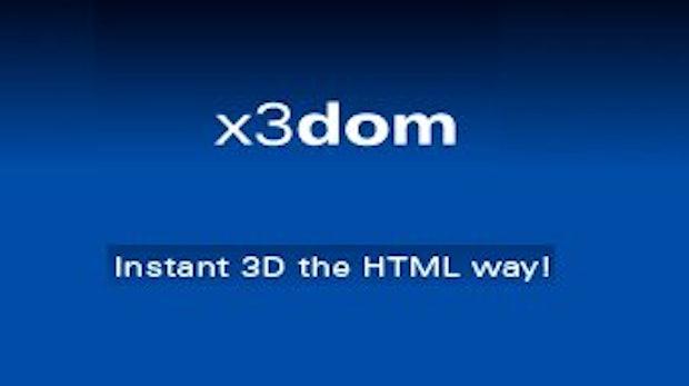 3D-Inhalt mit HTML-Syntax erzeugen - X3Dom und WebGL