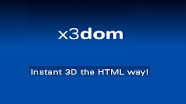 3D-Inhalt mit HTML-Syntax erzeugen – X3Dom und WebGL