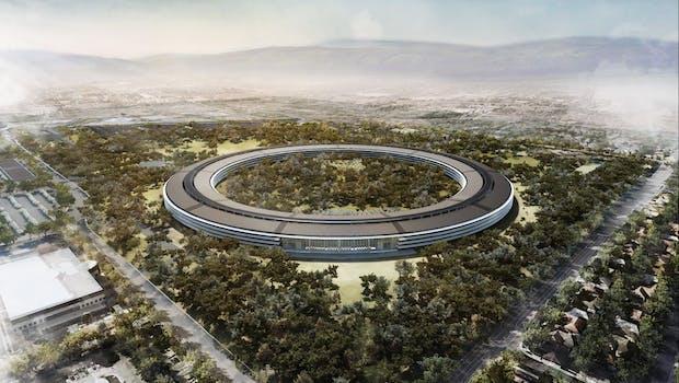 Apple: So soll die neue Firmenzentrale aussehen. (Screenshot: mercurynews)