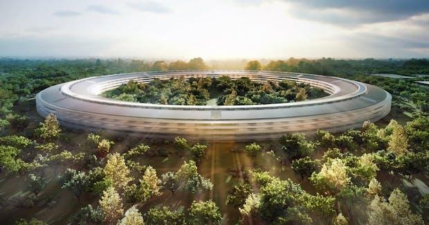 """Apples neue Firmenzentrale: Weitere Bilder des riesigen """"Mutterschiffs"""" [Bildergalerie]"""