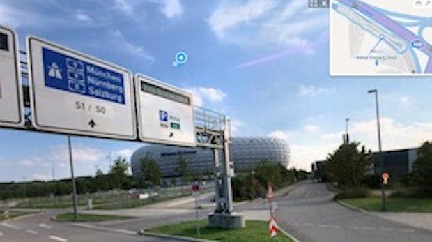 Bing Streetside in Deutschland gestartet
