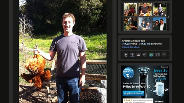 Facebook-Bug macht private Bilder öffentlich, auch die von Mark Zuckerberg