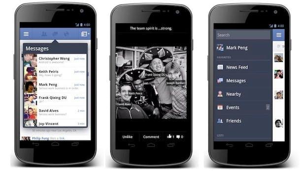 Android-App für Facebook: Neue Funktionen und verbesserte Bedienung