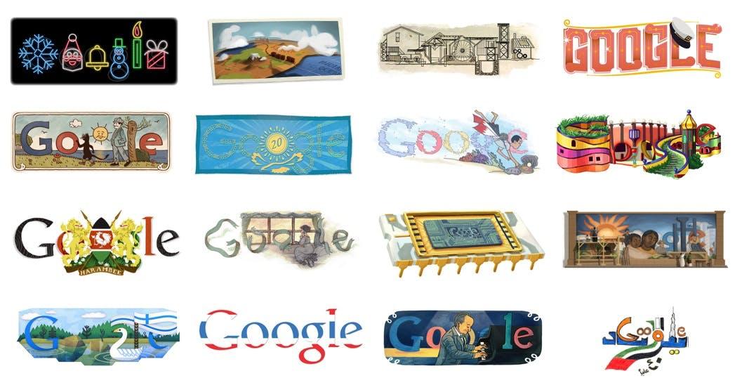 Die besten Google Doodles 2011 [Bildergalerie]