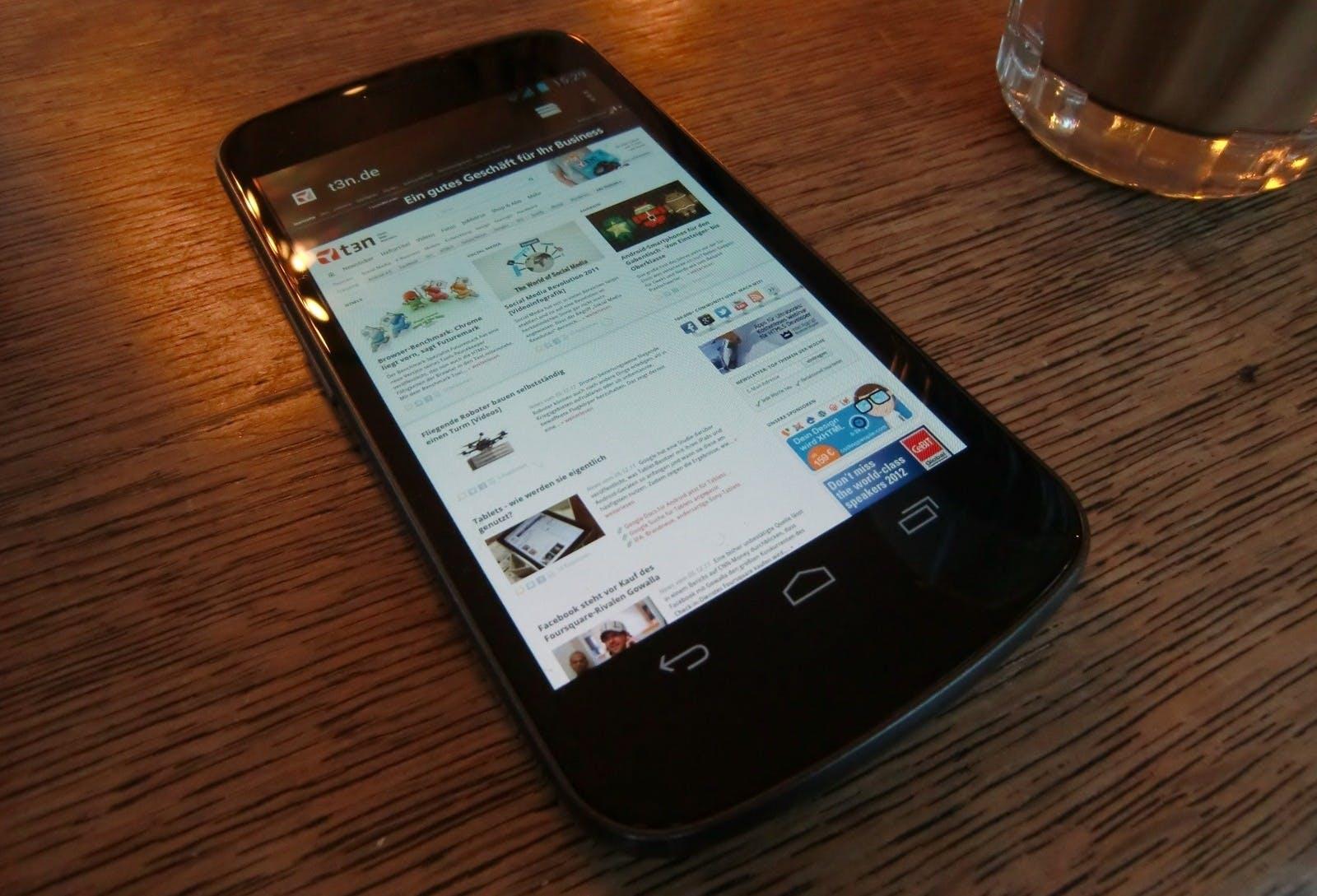 Galaxy Nexus: Update auf Android 4.2 Jelly Bean wird in Deutschland verteilt