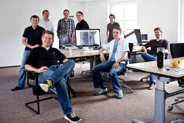 Das Team vom Startup doo. (Bild: doo)