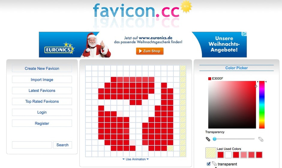favicon generator | t3n – digital pioneers