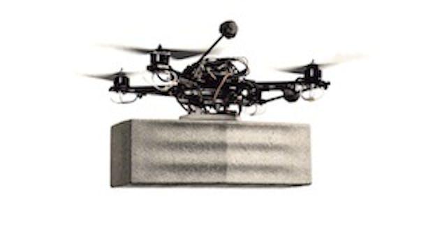 Fliegende Roboter bauen selbstständig einen Turm [Videos]