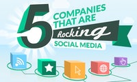 Social Media Best Practice - 5 Unternehmen zeigen, wie es geht [Infografik]