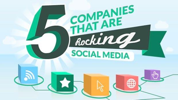 Social Media Best Practice – 5 Unternehmen zeigen, wie es geht [Infografik]